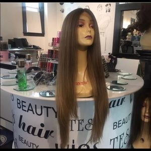 Wig Ash blonde brown Long 30+ inch Lacefront 2019